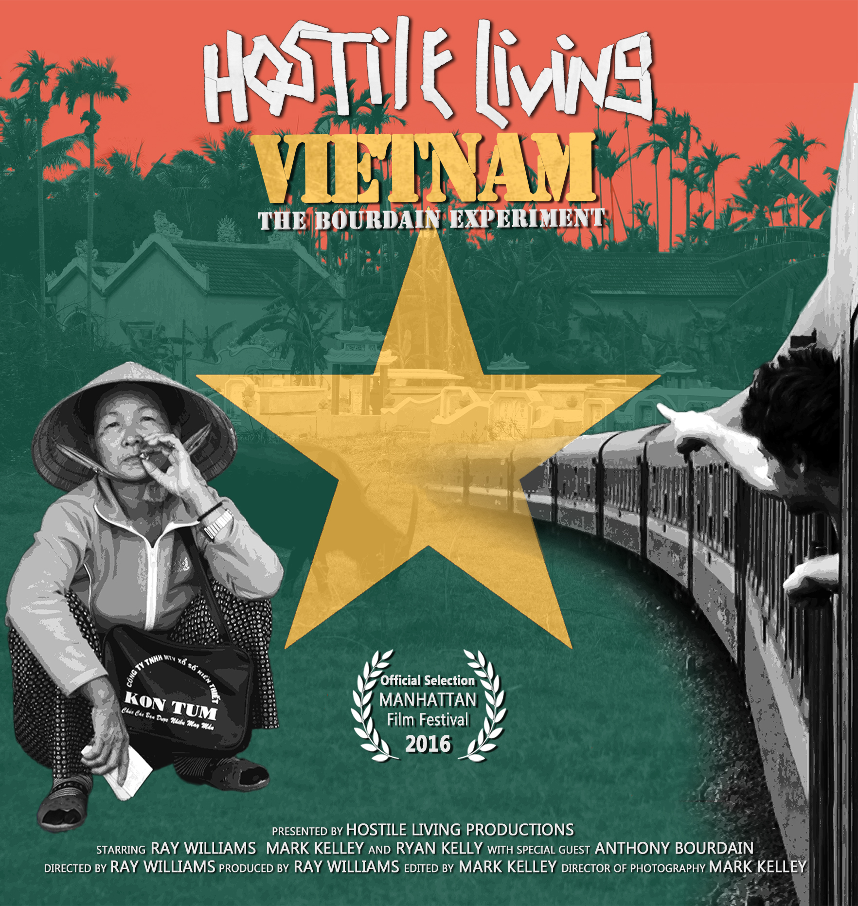 Hostile Living Vietnam: The Bourdain Experiment