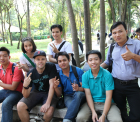 Friends in Ho Chi Minh City