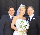 Jimmy, Trisha, Vincent, Wedding Photo